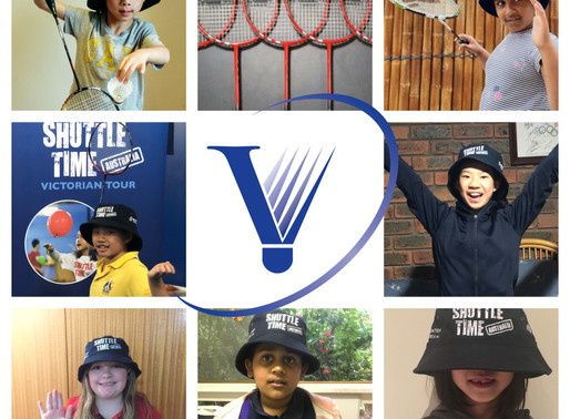 Winners of Badminton Racquets - Shuttle Time Victorian Tour