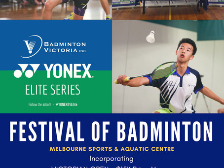 Festival of Badminton 2018!