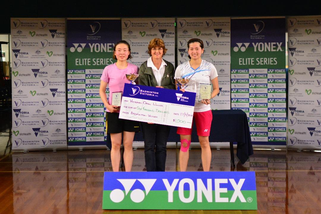 2017 YONEX Victorian Open WD Winner