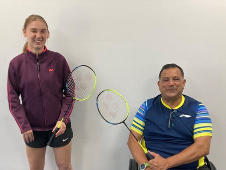 Para Badminton Ambassadors for 2021