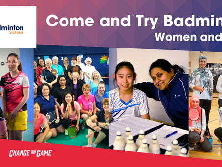 Come and Try sessions - International Women's Day Celebrations in MARCH: Month of Women and Girls