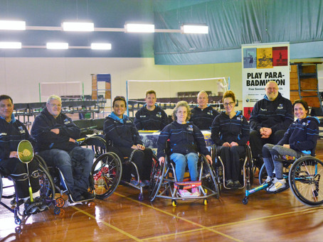 Ability Para Badminton Club at the Victorian Disability Sport and Recreation Festival 2019