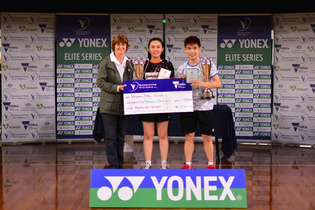 2017 YONEX Victorian Open XD Winner