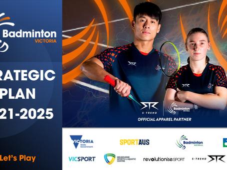 Strategic Plan 2021-2025 of Badminton Victoria