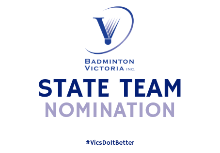 New State Team Nomination Online Forms - June 2019