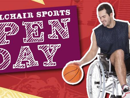 Wheelchair Sports Open Day at Darebin Community Sports Stadium
