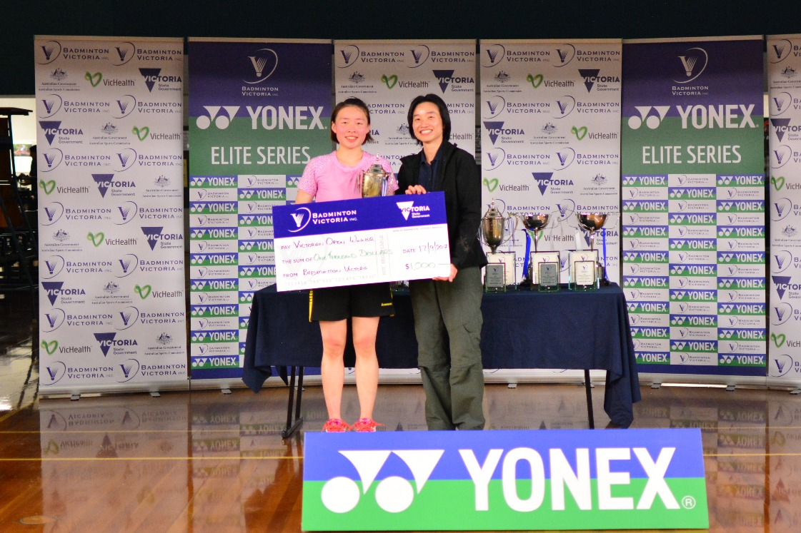 2017 YONEX Victorian Open WS Winner