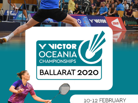 Now Recruiting! - Event Team for the VICTOR Oceania Championships 2020