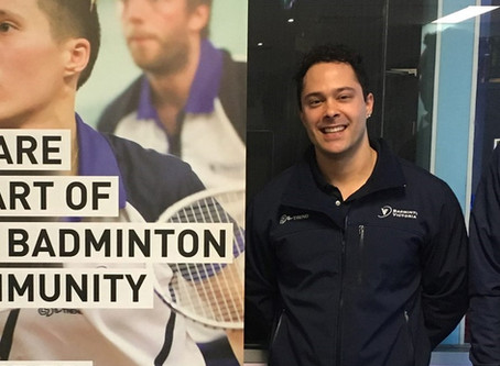 James Pountney departs from Badminton Victoria