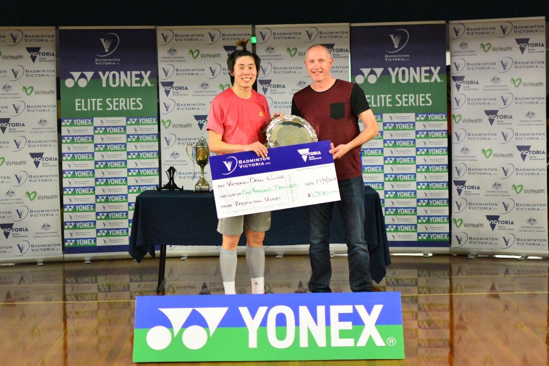 2017 YONEX Victorian Open MS Winner