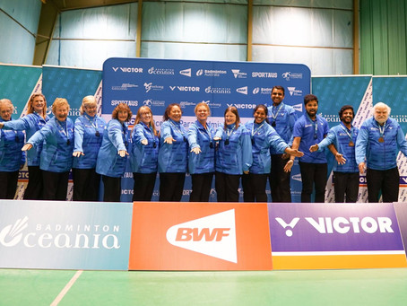 VOLUNTEERS WANTED - VICTOR Oceania Badminton Championships 2019 (Open and Juniors)