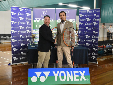 YONEX and Badminton Victoria extend partnership until 2021!