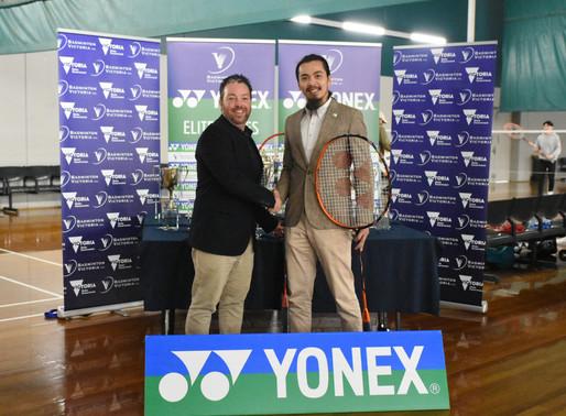 YONEX and Badminton Victoria extend partnership until 2021!