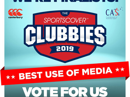 VOTE NOW: Clubbies Award 2019 for Best Use of Media nominee - Badminton Victoria