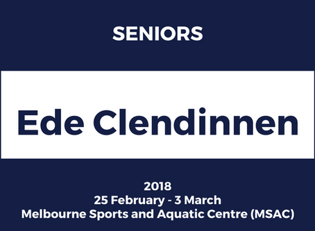 2018 Victorian State Team - Nominations Extended!