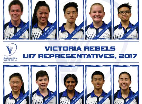 Victoria Rebels win Bronze at the 2017 June Bevan Trophy