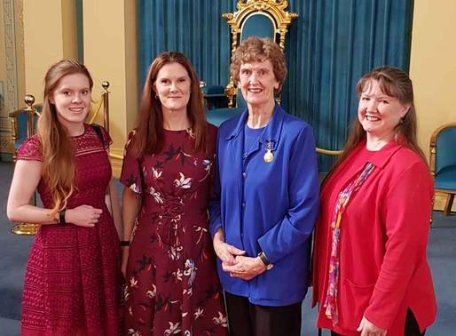 Val Nesbitt OAM awarded Queen's Birthday 2018 Honour