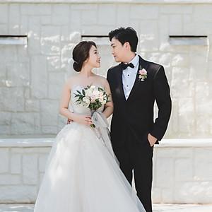 C + J Wedding