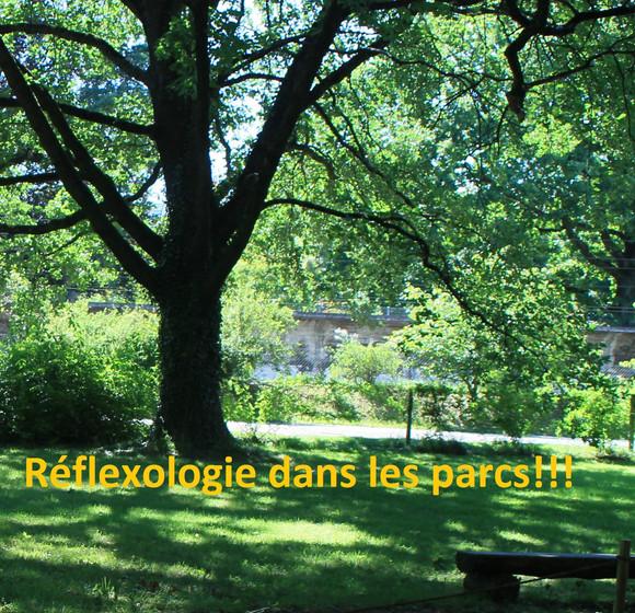 Réflexologie dans les parcs:             planning 2018
