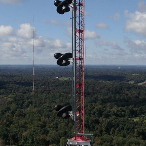 Radio tower in Floyd Knobs Indiana