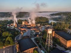 Buffalo Trace Distillery in Frankfort Kentucky