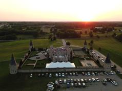 Sunset at the Kentucky Castle - Lexington Kentucky