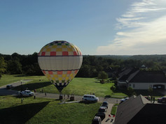 This End Up hotair balloon, owned and piloted by Derek Browning.