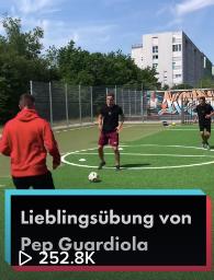 Lieblingsübung von Pep Guardiola
