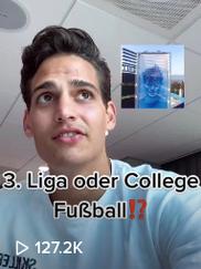 3. Liga oder College Fußball?