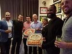 David Ross BDay World Series Celebration