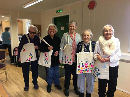 Our very own Bag Ladies !