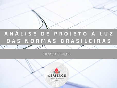 Análise de Projeto à Luz das Normas Brasileiras