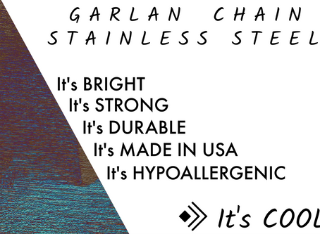 Stainless Steel Chain - Garlan Chain