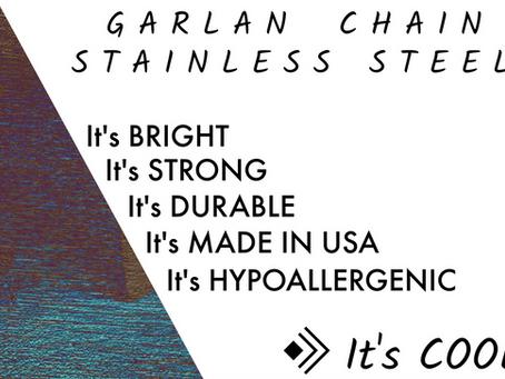 Stainless Steel Chain - Garlan Chain