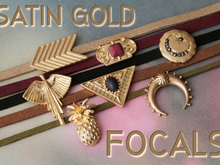 Gorgeous Satin Gold Focal Additions