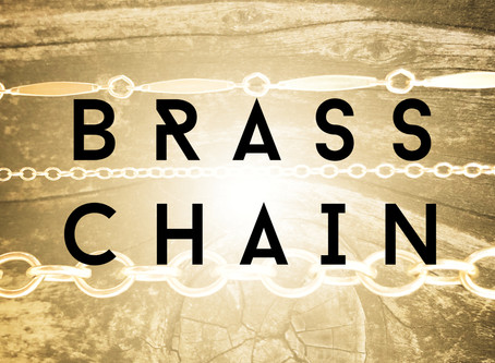 Brass Chain from GARLAN CHAIN