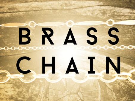 Brass Chain from GARLAN CHAIN