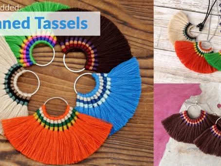New Chain & Fan Tassels - Zola Elements