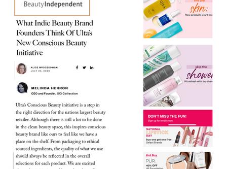 Ulta Beauty Conscious Initiative   103 Collection