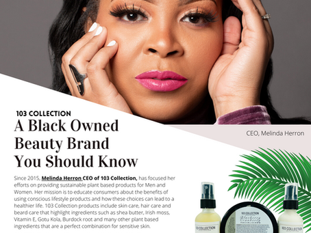 103 Collection | A Black Owned Beauty Brand You Should Know