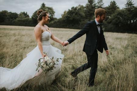The wild flower box-bridal bouquet