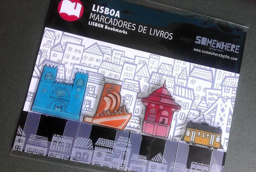 Marcadores de Livros LISBOA