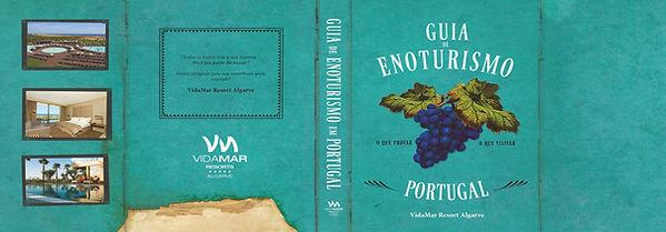 Personalização de sobrecapa do Guia do Enoturismo em Portugal para o Vidamar Resorts