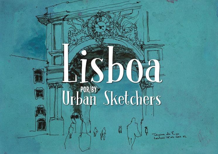 Lisboa por/by Urban Sketchers