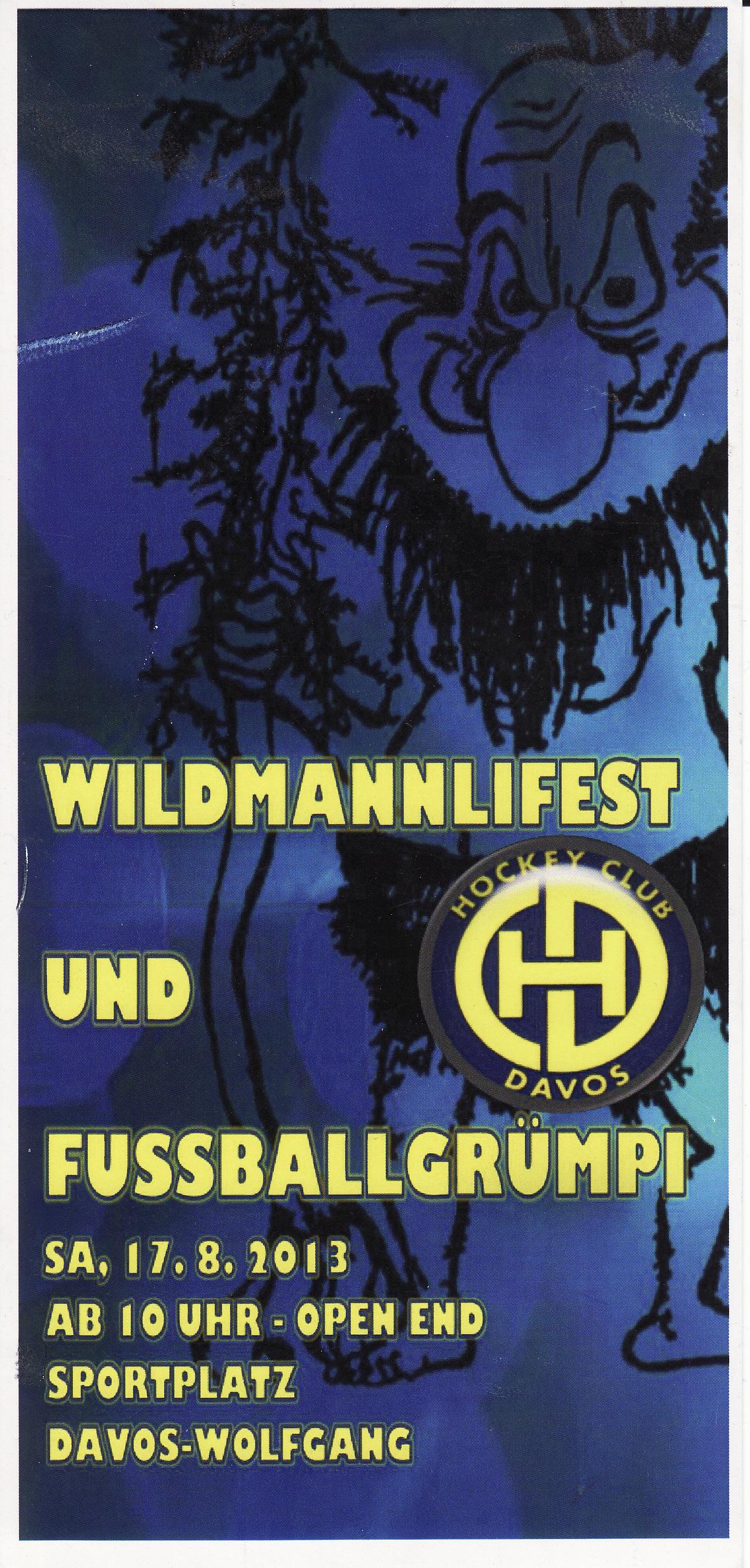 Wildmannlifest 2013