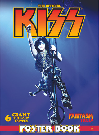 Another Official KISS Poster Book cover reveal!