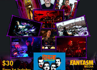 Fantasm Exclusive Charlie Benante Cards & Song Download!