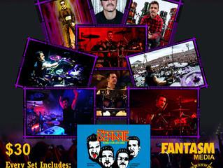 Fantasm Exclusive Charlie Benante Cards & Song Download!