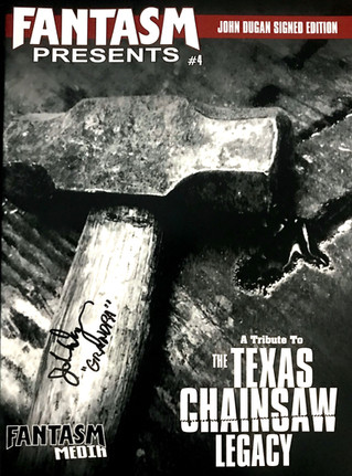 John Dugan Signed Chainsaw Issue NOW SHIPPING!