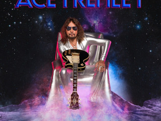 New Ace Frehley Single, ROCKIN' WITH THE BOYS, Debuts Today!